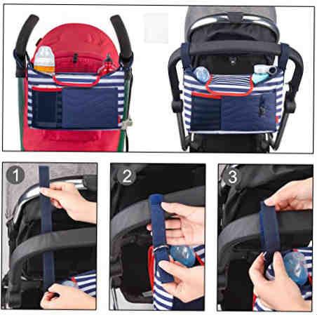 bolso para carrito de bebe