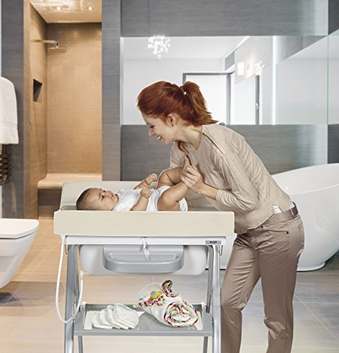 bañera cambiador bebe adaptable bañera
