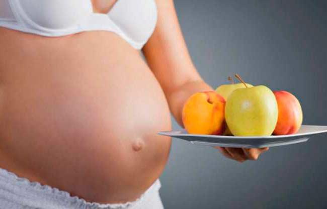 nutrientes embarazada